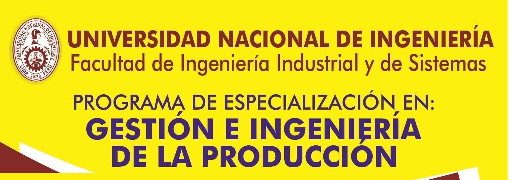 Facultad De Ingeniera Industrial Y De Sistemas Facultad De