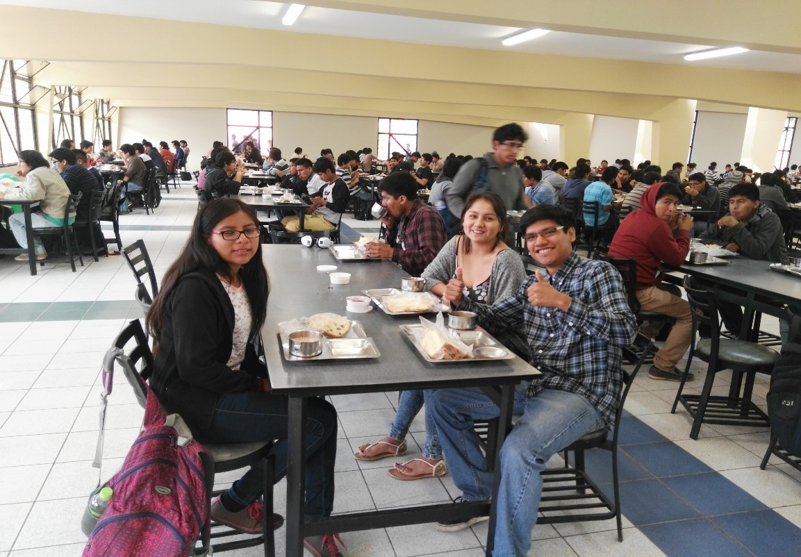 universidad nacional de ingenier a servicio de On comedor uni