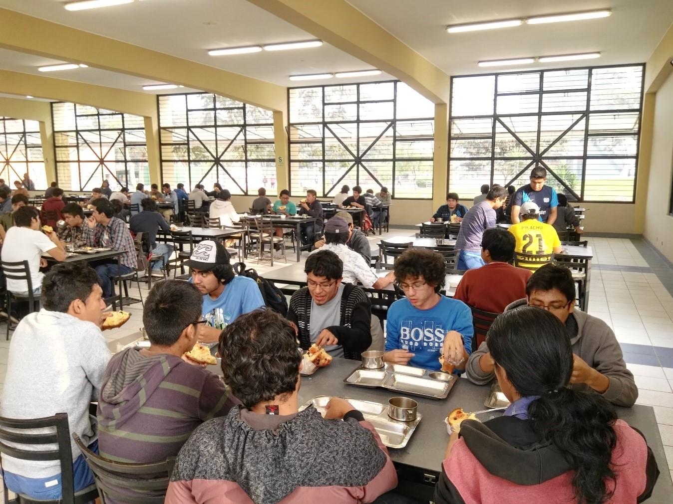 Universidad nacional de ingenier a servicio de for Comedor estudiantil