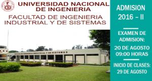 INICIO DEL SEMESTRE ACADÉMICO 2016-II DE MAESTRÍAS EN INGENIERÍA INDUSTRIAL E INGENIERÍA DE SISTEMAS - UNIDAD DE POSGRADO UNI