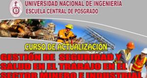 Gestión de Seguridad y Salud en el Trabajo en el Sector Minero e Industrial