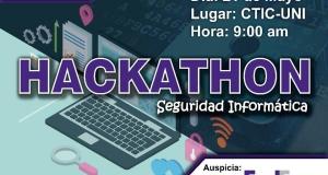 1ra Hackathon de Seguridad Informática.