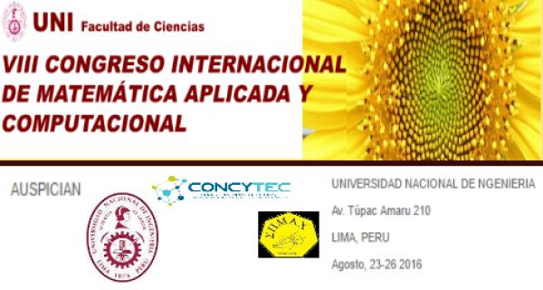 Congreso Internacional de Matemática Aplicada y Computacional - VIII CIMAC 2016