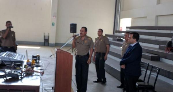Equipo de investigadores del CTIC UNI visitó la Escuela de Sub Oficiales de la PNP en Puente Piedra