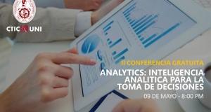 Analytics: inteligencia analítica para la toma de decisiones - II Conferencia Gratuita