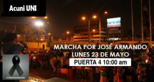Marcha por José Armando - Organiza ACUNI